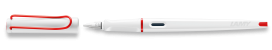 LAMY special edition joy white+red Calligraphy Fountain Pen
