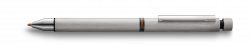 LAMY cp 1 tri pen brushed Multisystem pen