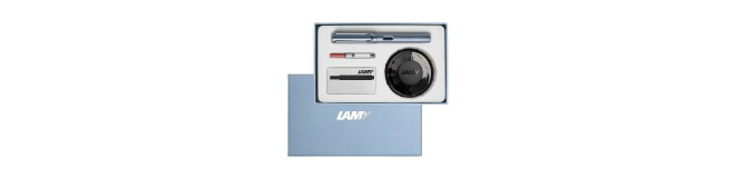 LAMY special edition AL-star fountain pen gift set - azure